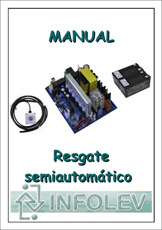 [Manual resgate semi automático]